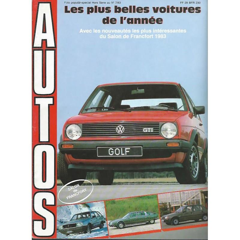 N° Salon Francfort  1983