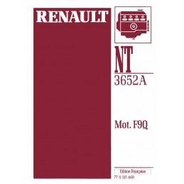 Manuel Réparation Moteur F9Q