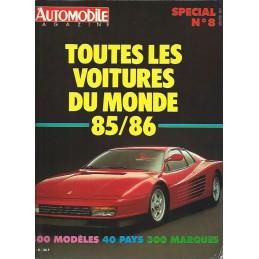 Les Voitures Du Monde 85/86