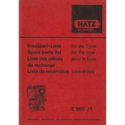 Moteur HATZ E 950.11