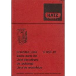 Moteur HATZ E 950.12