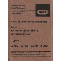Moteur HATZ Z782/788/789/790