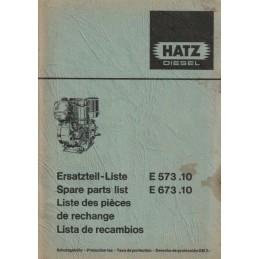 Moteur HATZ E573.11/ E673.11