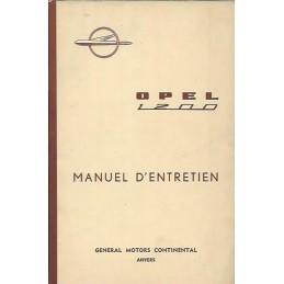 Notice d' Entretien 1961