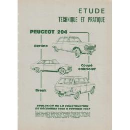 Revue Technique 204  1967