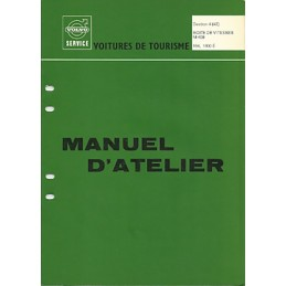 Manuel d Atelier BV  M 400