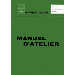 Manuel Atelier Injection B20E/B20F