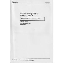 Manuel Reparation BV Auto 01N