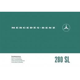 Notice d' Entretien  280 SL