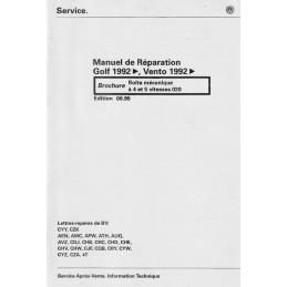 Manuel Reparation BV Meca 020