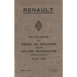 Catalogue de Pieces YN 3