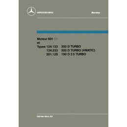 Manuel Reparation 300 D Turbo