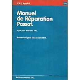 Manuel Reparation BV Meca 013