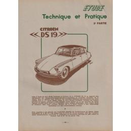 Revue Technique DS19 2me...
