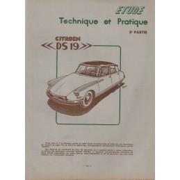 Revue Technique DS19  3me...