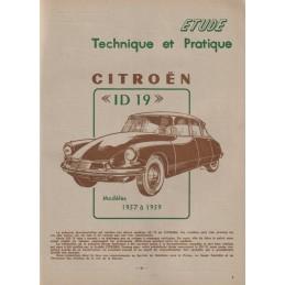 Revue Technique ID 19 1957
