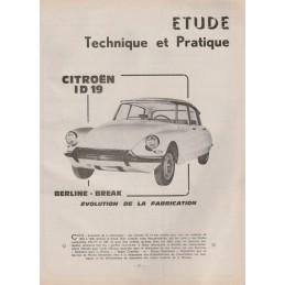 Revue Technique ID 19 1965