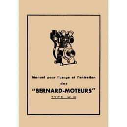 Moteur Bernard W10