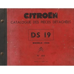 Catalogue de Pieces 1957