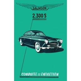 Notice d' Entretien  2300 S