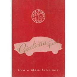 Notice d' Entretien 1955