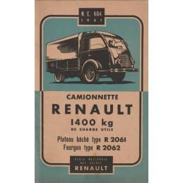 Notice d' Entretien R 2061...