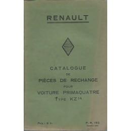 Catalogue de Pieces KZ 14