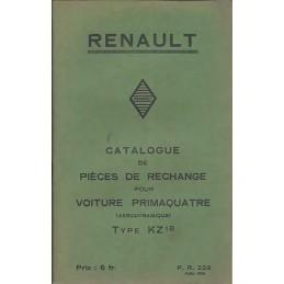 Catalogue de Pieces KZ 18