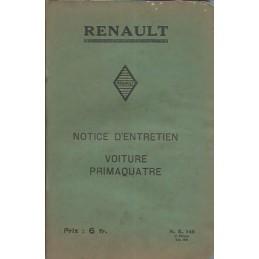Notice d' Entretien KZ 6