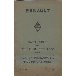 Catalogue de Pieces PG 8-SA