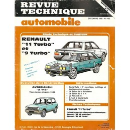 Revue Technique R9 / R 11 Turbo