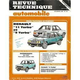 Revue Technique R9 / R 11 Turbo