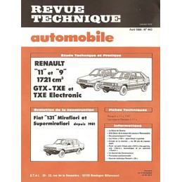 Revue Technique  R 9 / R 11
