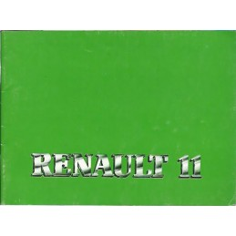 Notice d' Entretien 1987