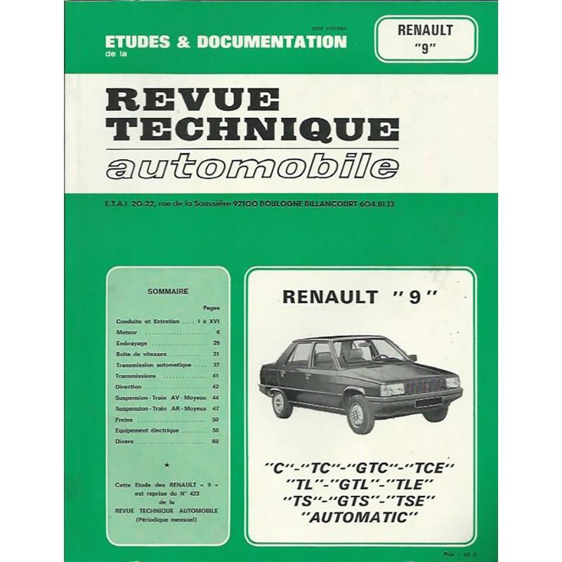 Revue Technique  R 9