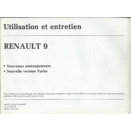 Notice d' Entretien 1986