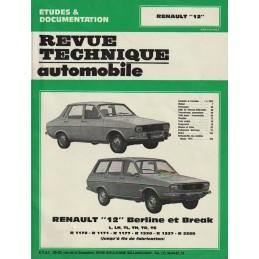 Revue Technique R 12  1981
