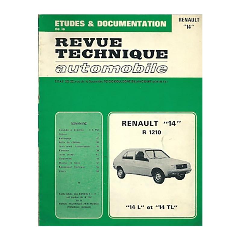 Revue Technique R 14 L / TL