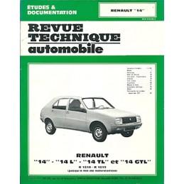 Revue Technique R 14 L/TL/GTL