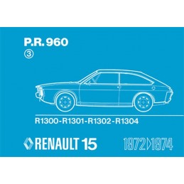Catalogue de Pieces R 15