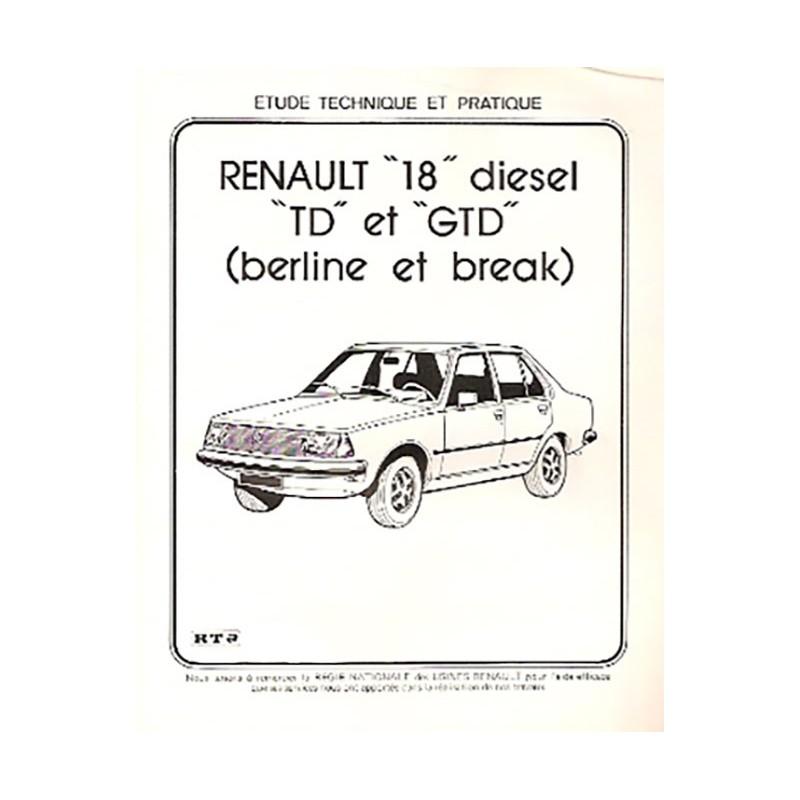 Revue Technique R 18 TD / GTD