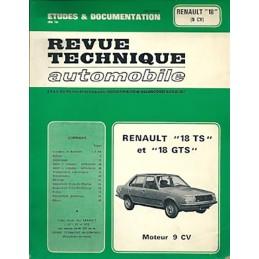 Revue Technique R 18 TS / GTS