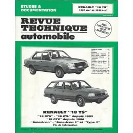 Revue Technique R 18 GTS / GTX