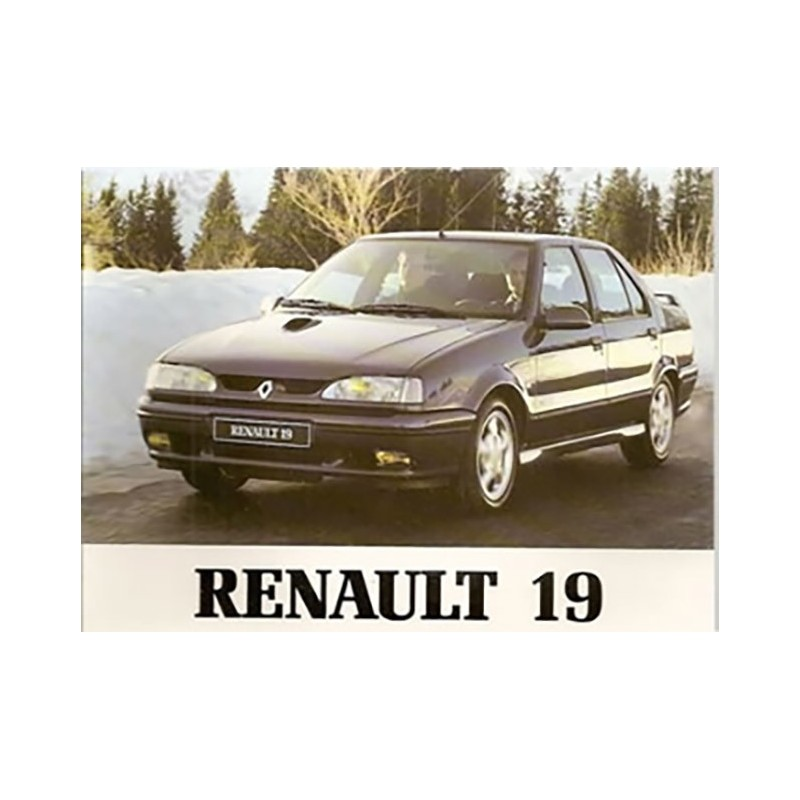 Notice d' Entretien 1995