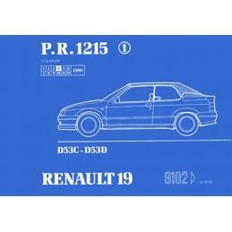 Catalogue de Pieces Cabriolet
