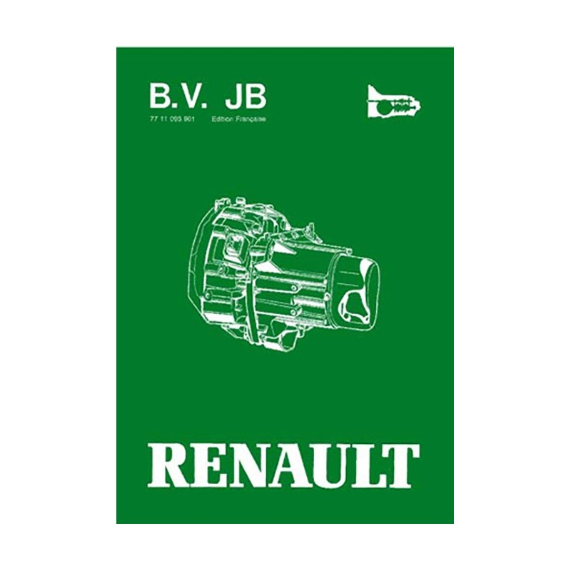 Manuel Reparation BV JB