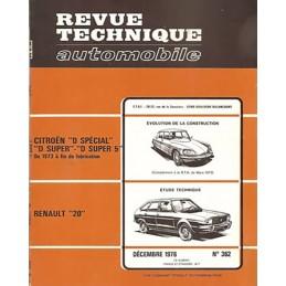 Revue Technique R 20 L / TL / GTL