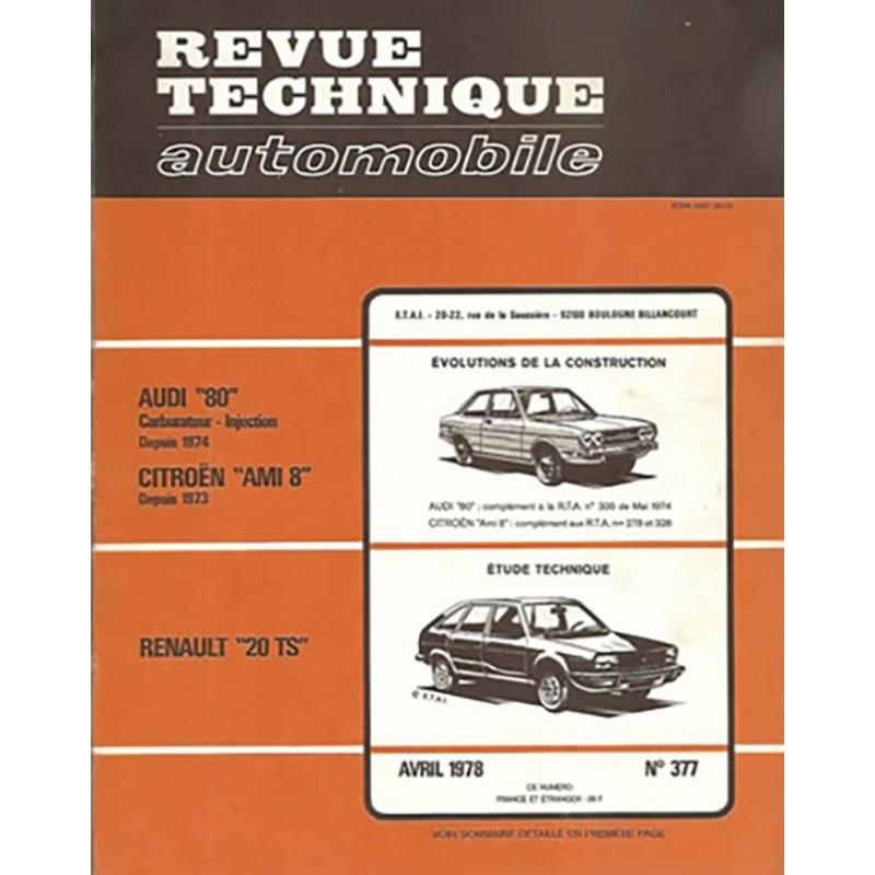 Revue Technique R 20 TS