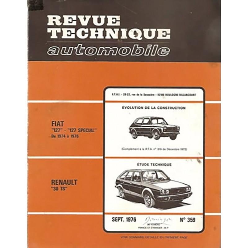 Revue Technique R 30 TS