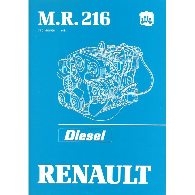 Manuel Reparation Diesel 852